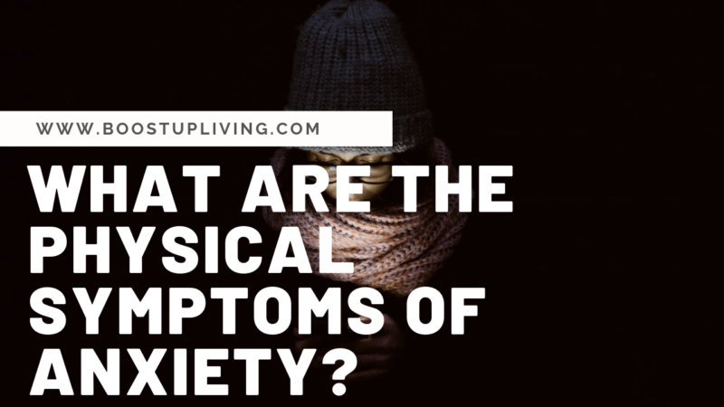 what are the physical symptoms of anxiety