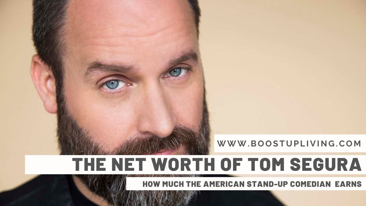 Net Worth Of Tom Segura - How Much The American StandUp Comedian Earns