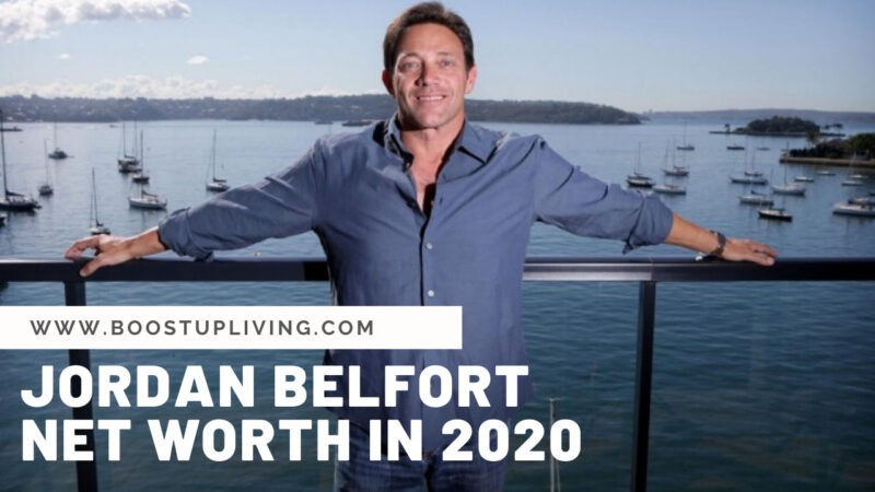 Jordan Belfort net worth in 2020