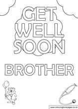 Get well soon brother.