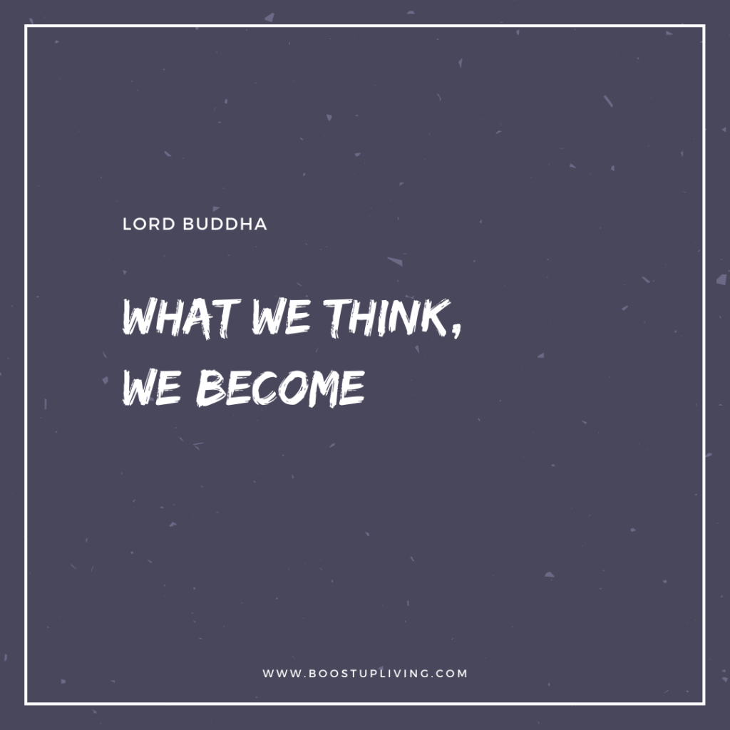 What we think, we become -  Inspirational Quote By Buddha