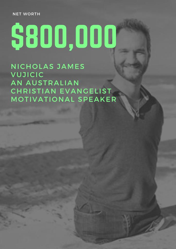 $800,000 Nickolas James Net Worth - An Australian christian evangelist motivational speaker