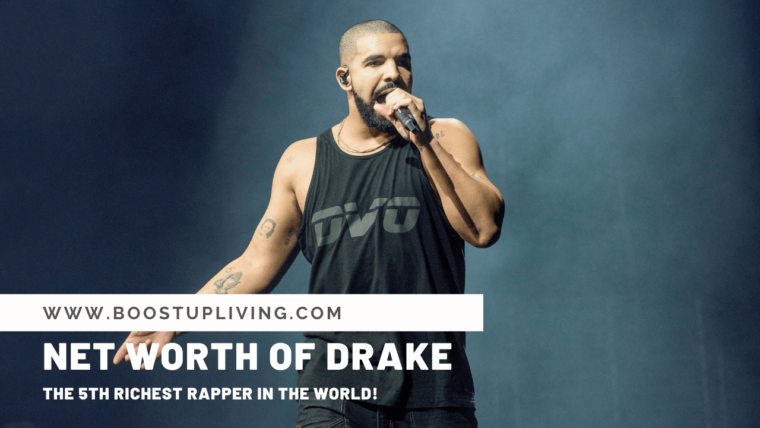 Net Worth of DRAKE - The 5th Richest Rapper In The World!